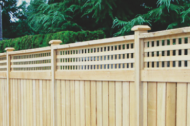 Our wood fences are the best and look great! We can build custom wood fences for you or something generic and simple. Wood fences look great and can lost a long time, especially if you maintain them correctly. Wood fences are one of the most popular choices when choosing a fence.
