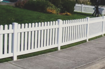 Vinyl Fences provide great privacy and last a very long time. They are very durable and are an extremely low maintenance fence type. We install very high quality vinyl fencing products and do some of the best work in the industry! We have very high customer satisfaction so call us!
